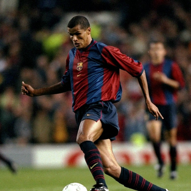 Rivaldo's Official Barcelona Signed Shirt, 1998/99
