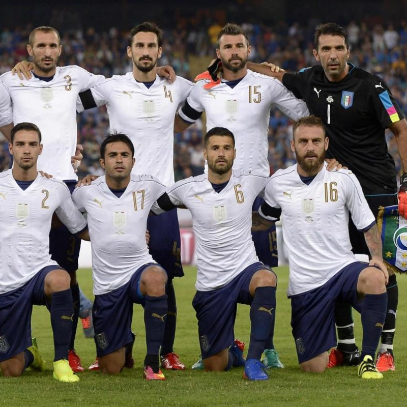 Florenzi's Match Shirt, Italy-France 2016