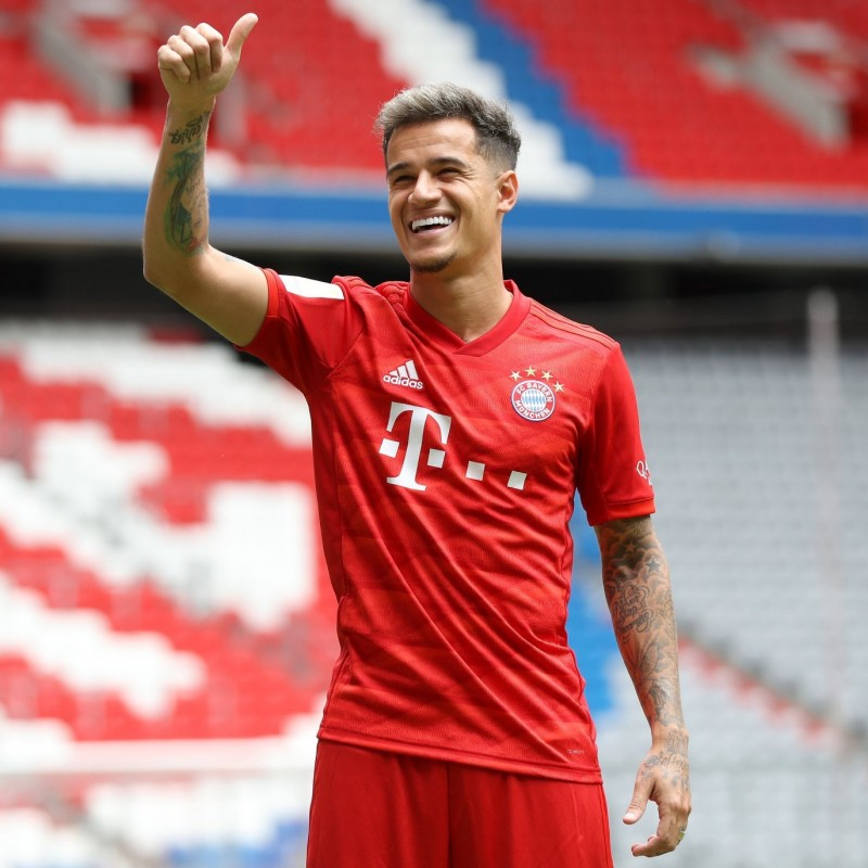 Official Bayern Munich Shirt, 2018/19 - Signed by Coutinho