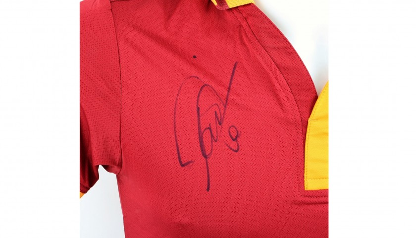 Official Roma 2013/14 Shirt - Autographed by Totti