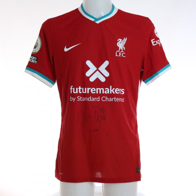 Shaqiri's Liverpool FC Match-Issued and Signed Shirt, Limited Edition 20/21