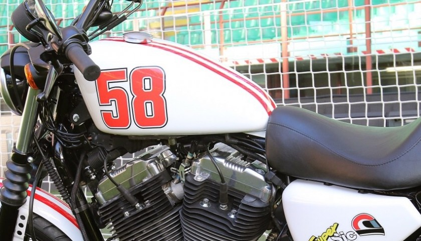 Christian Abbiati, AC Milan goalkeeper, gives you his Harley-Davidson special edition