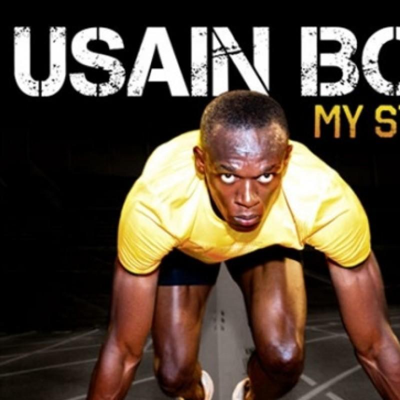 A signed copy of Usain Bolt's Autobiography