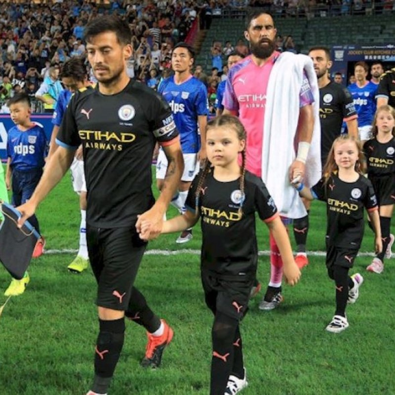 Manchester City Player Mascot Experience