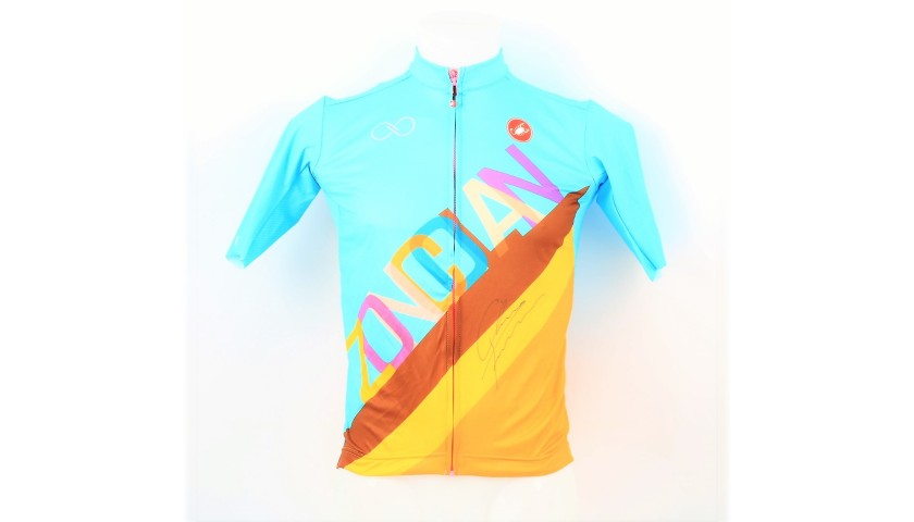 Monte Zoncolan 2018 Jersey - Signed by Chris Froome