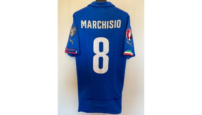 Marchisio's Match Shirt, Italy-Azerbaijan 2014