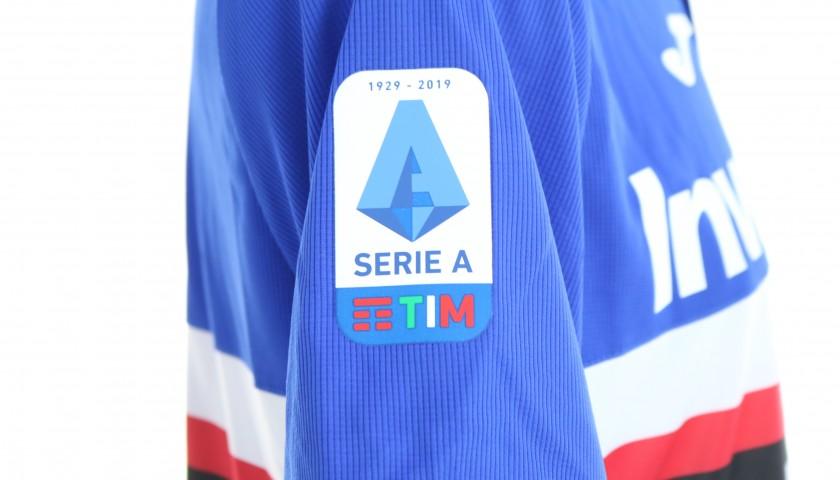 Caprari's Worn Shirt, Genoa-Sampdoria, Special Gaslini