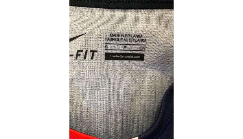 Ibrahimovic's Official PSG Signed Shirt, 2015/16