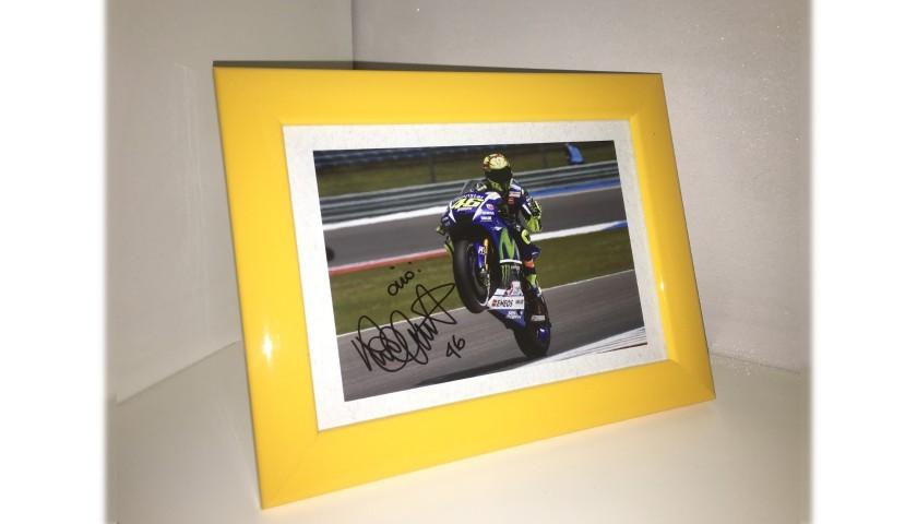 Valentino Rossi Signed Photograph