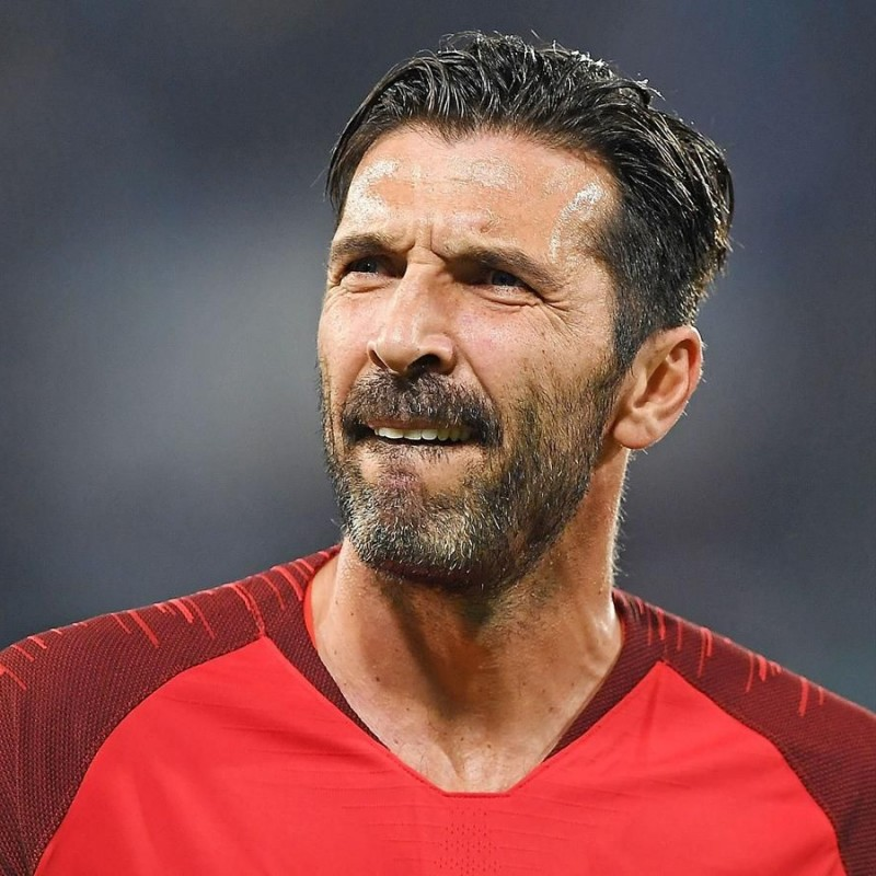 Buffon's Italy Match-Issue Shirt, 2018 Season - Special Patch