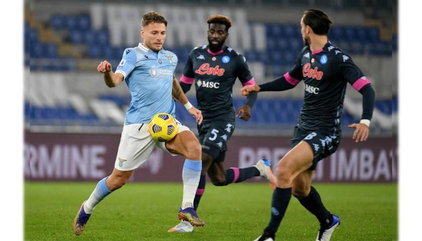 Llorente's Match Shirt, Lazio-Napoli 2020