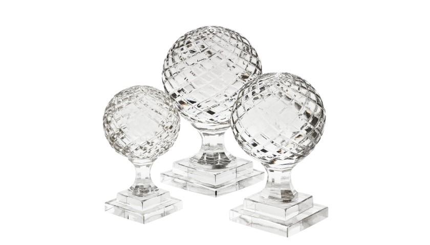 3-Piece Set of Arabesque Objects by Eichholtz