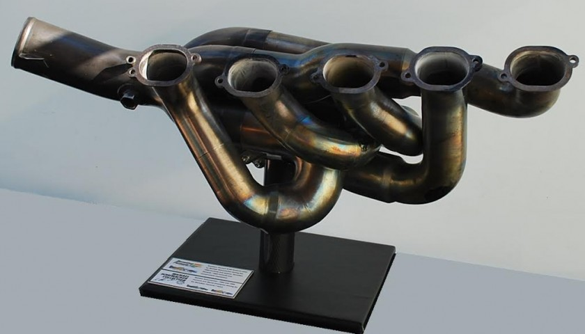 Michael Schumacher Benetton B195 Formula 1 Exhaust Bank