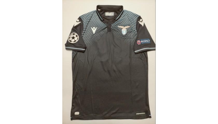 Immobile's Lazio Match Shirt, UCL 2020/21