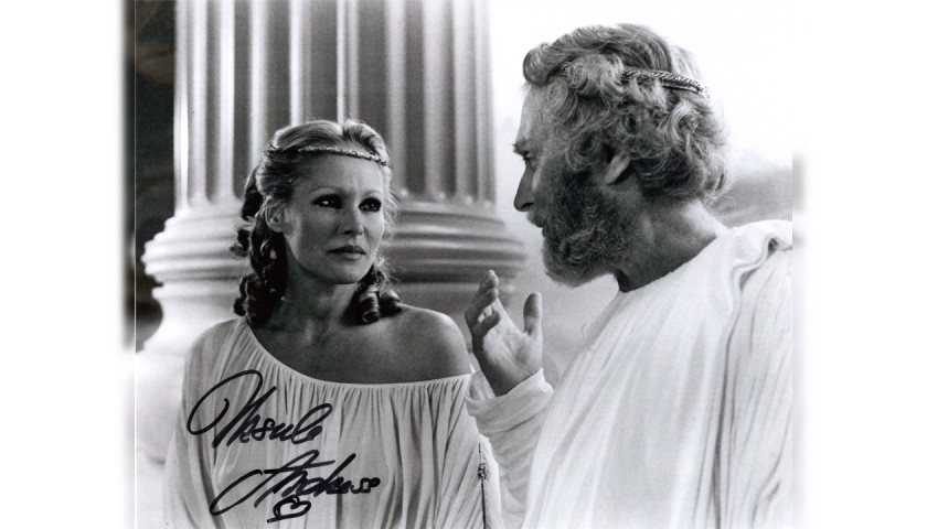 Ursula Andress Signed Photograph - Clash of the Titans