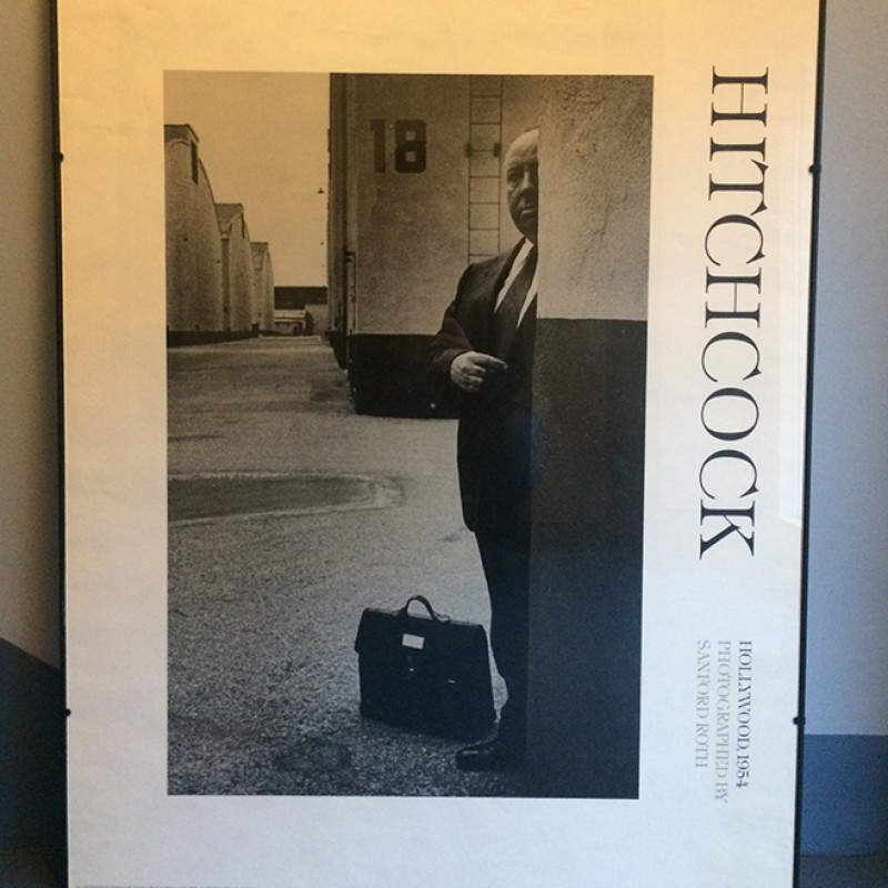 Original Photograph of Alfred Hitchcock