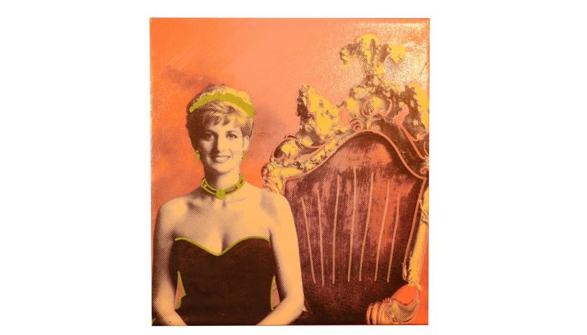 """Princess Diana"" by Steve Kaufman"