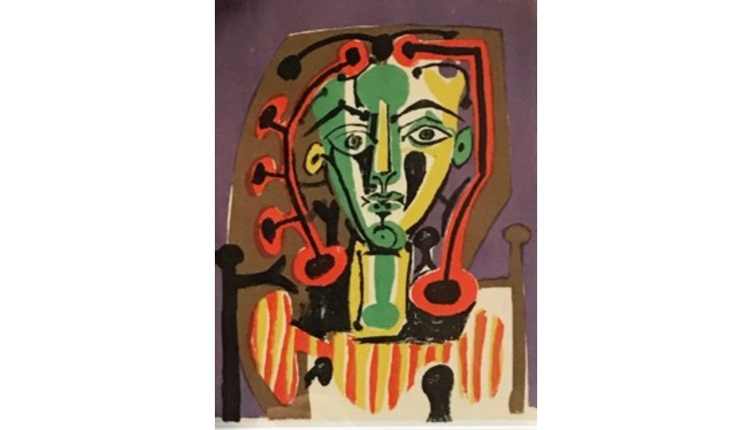 """""""Homme Pensant"""" by Pablo Picasso"""
