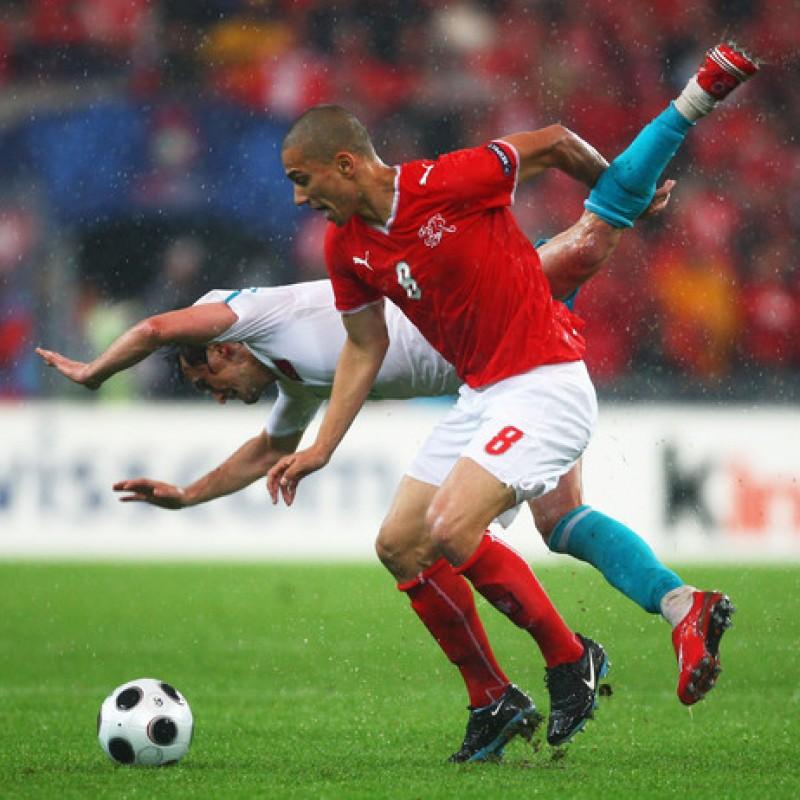 Inler's Switzerland Match Shirt, 2008/09 Season