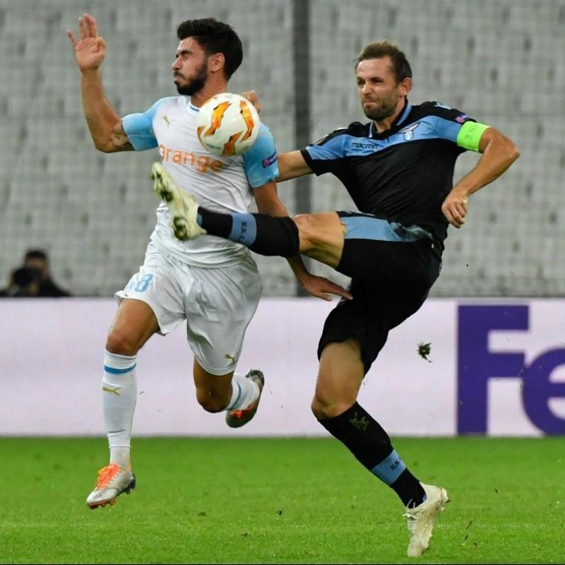 Lulic's Match Shirt, Marseille-Lazio EL 2018