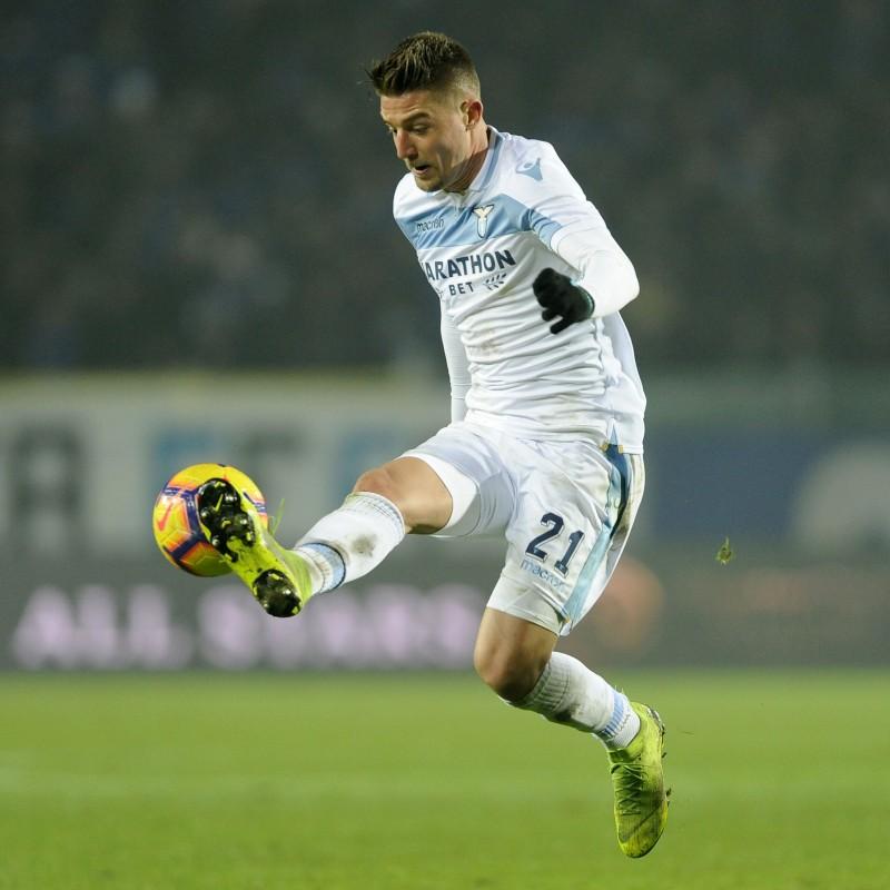 Milinkovic-Savic's Worn and Signed Nike Boots