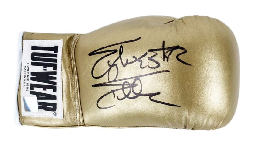 Everlast Glove Signed by Sylvester Stallone