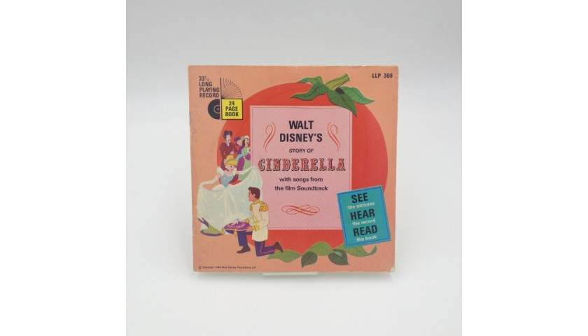 Cinderella - Disney Records LLP308 Vinyl