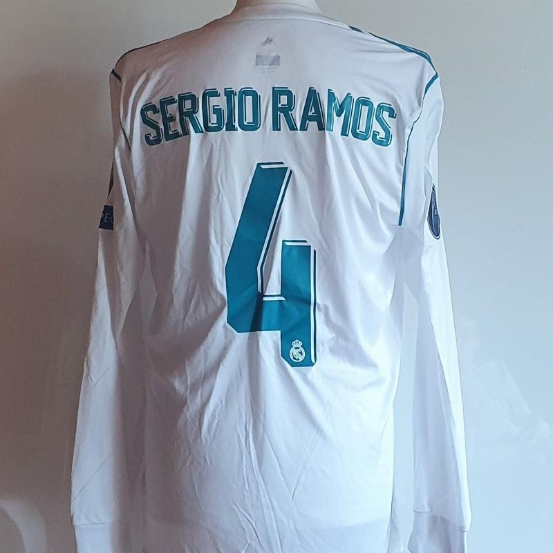 Ramos' Real Madrid Champions League Match Shirt
