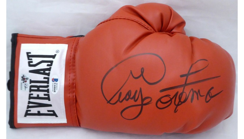 George Foreman Hand Signed Boxing Glove
