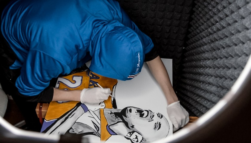 Kobe Bryant Artwork by Jankto