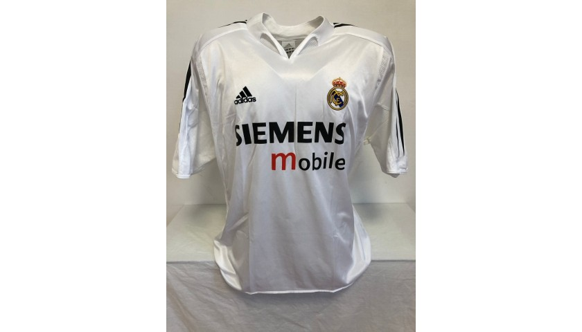 Beckham's Official Real Madrid Signed Shirt, 2004/05