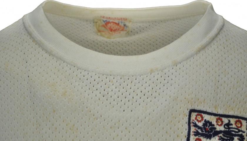 Bobby Charlton's Worn Shirt, Brazil-England 1970