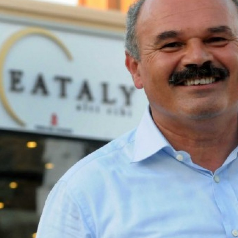 Dinner with Oscar Farinetti, founder of NYC's Eataly food store