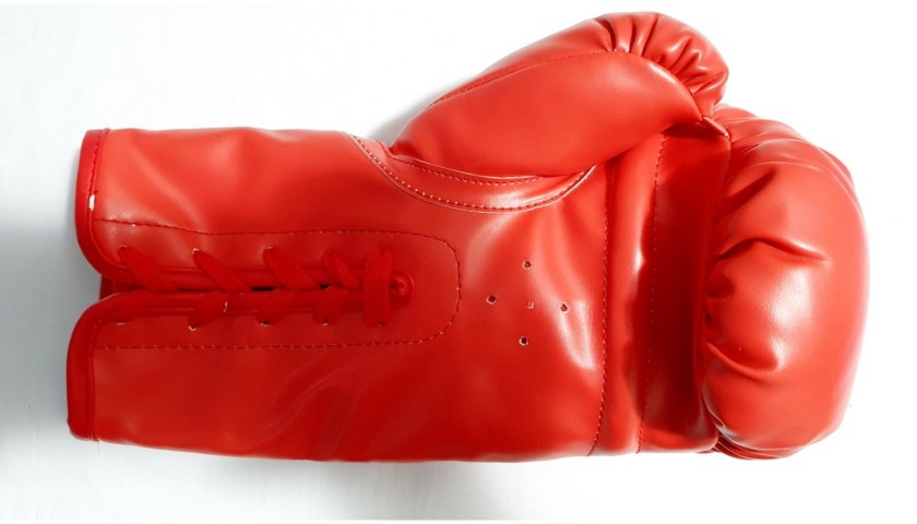 Boxing Glove Signed by George Foreman