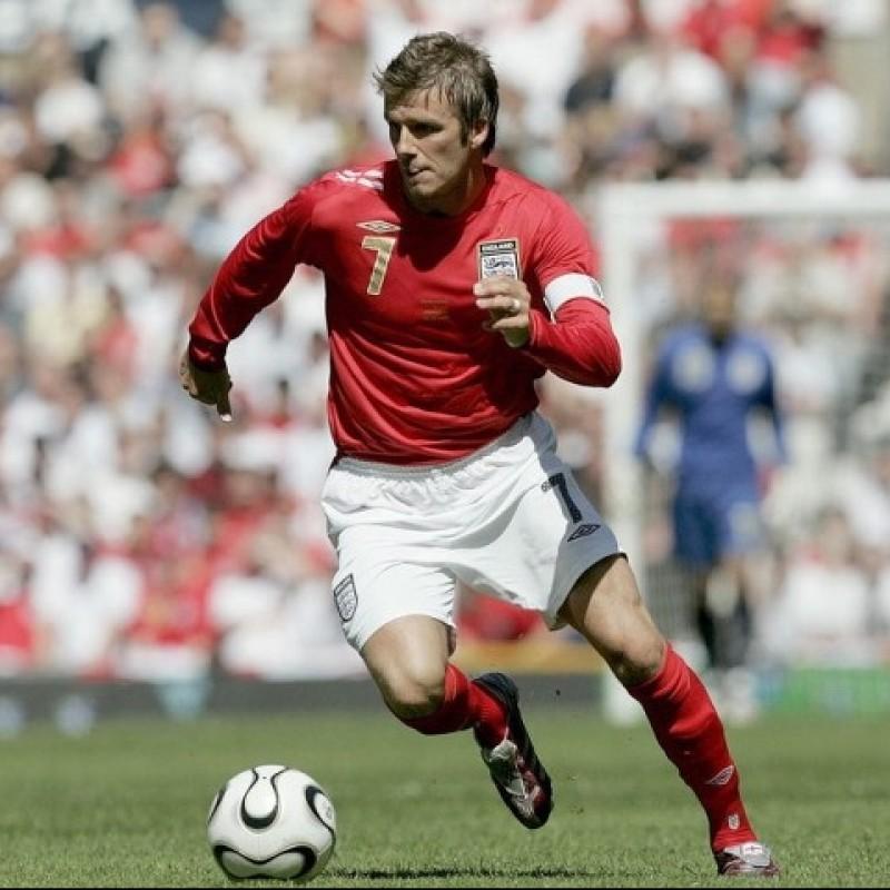 Beckham's Official England Signed Shirt, 2006