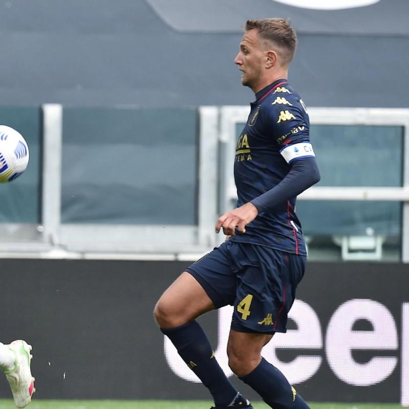 Criscito's Match Worn Shirt, Juventus-Genoa 2021