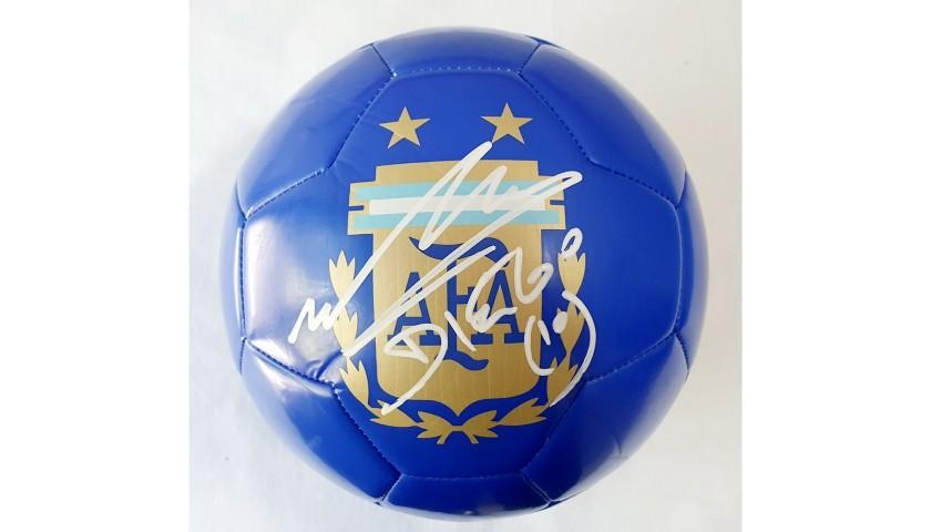 Official Argentina Football - Signed by Maradona