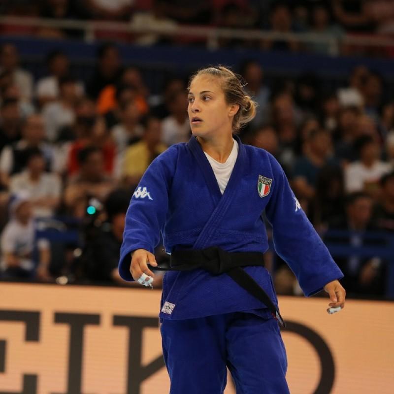 Judogi Signed by Odette Giuffrida