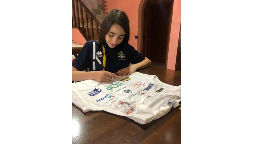 "Sara Vargetto's ""Giovani e Tenaci"" Signed Jersey"