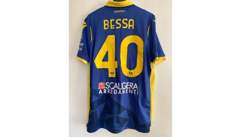 Bessa's Worn and Unwashed Shirt, Verona-Lazio 2021
