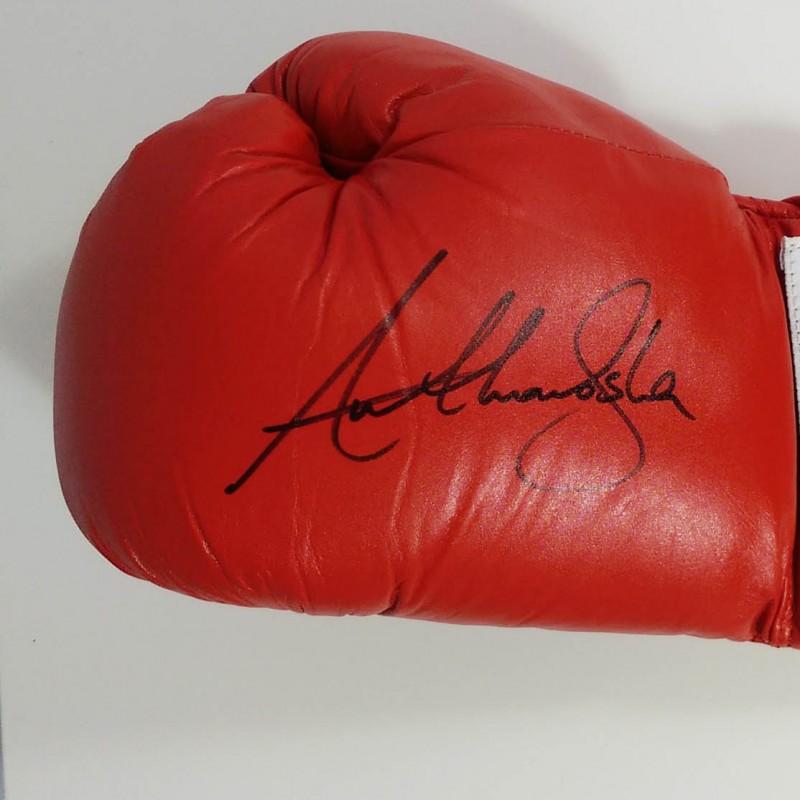 Everlast Boxing Glove Signed by Anthony Joshua