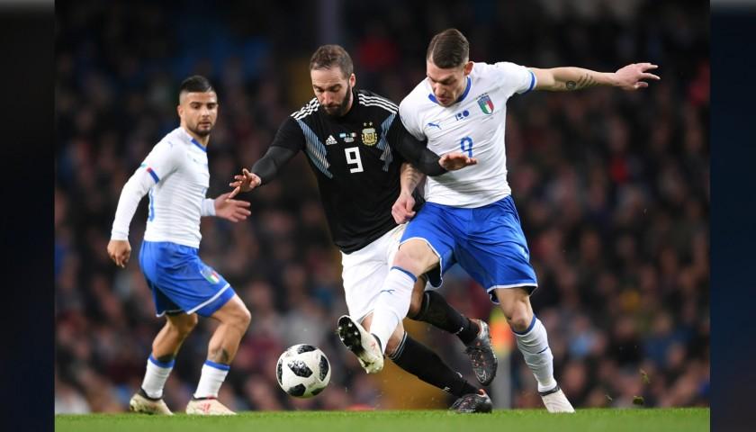 Belotti's Match-Issue Kit, Argentina-Italy 2018