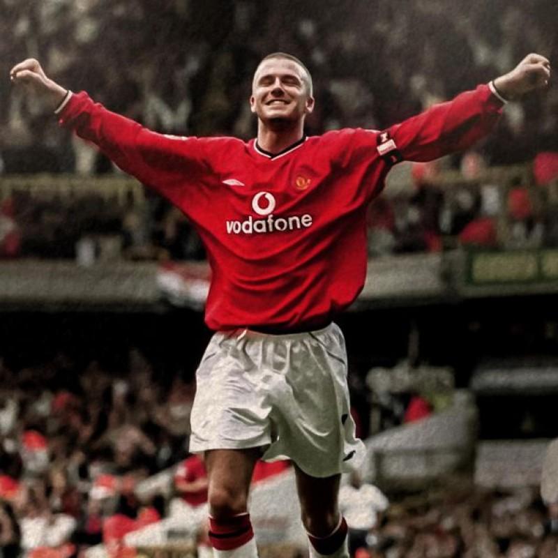 Beckham's Official Manchester United Signed Shirt 2000/01