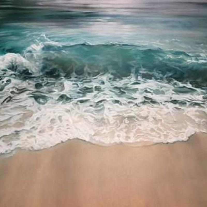 """Maldives"" by Zaria Forman"