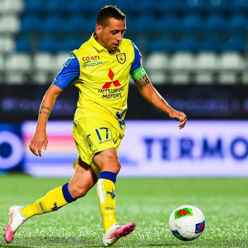 Giaccherini's Chievo Signed Match Shirt, 20/21