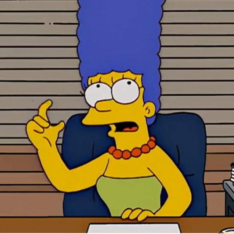 The Simpsons - Original Drawings of Marge Simpson