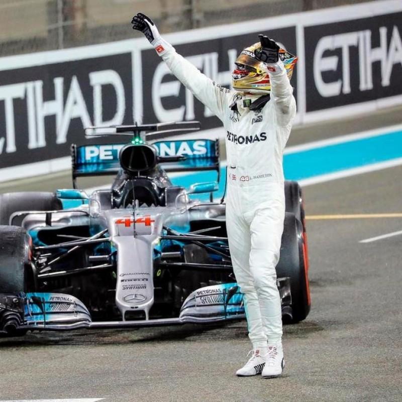 Guanti Puma personalizzati per Lewis Hamilton - Stagione 2018