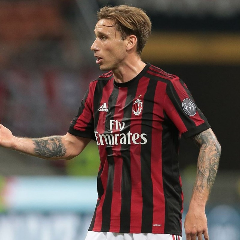 Biglia's Milan Signed Match Shirt, 2017/2018
