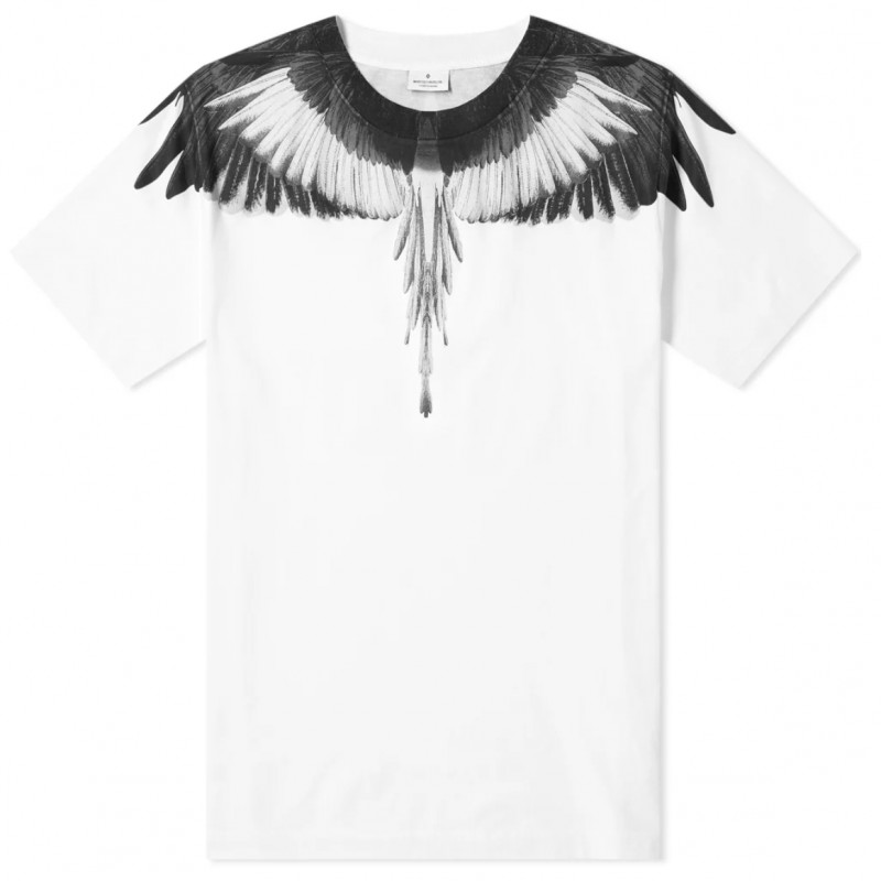 T-shirt Black Wings e Felpa Wings Neon Marcelo Burlon Kids