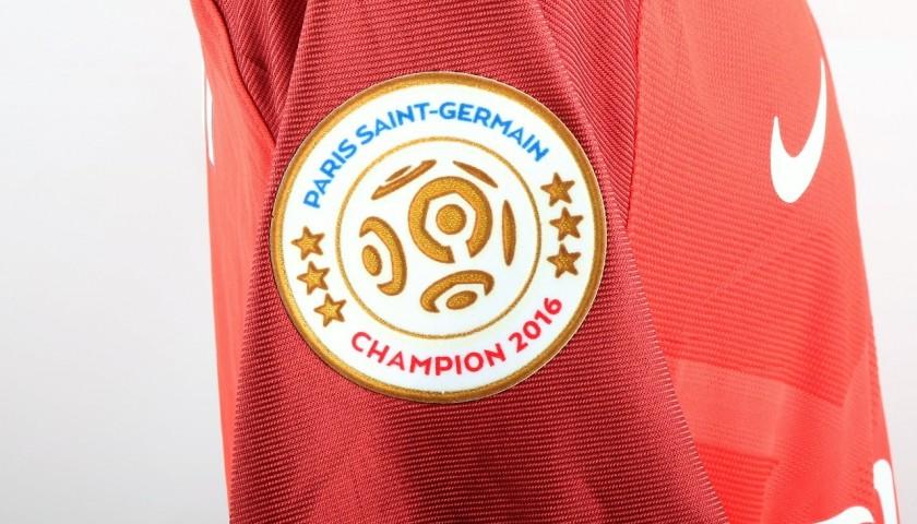 Official Verratti PSG Shirt, 2016/17 - Signed